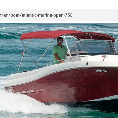 New boat Atlantic Marine with Honda 250hp for 12+1 persons... New red 💣💥💣💥💣💥