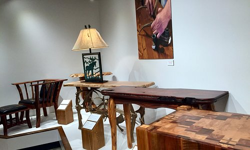 Part of the Museum showing the history or western furniture.