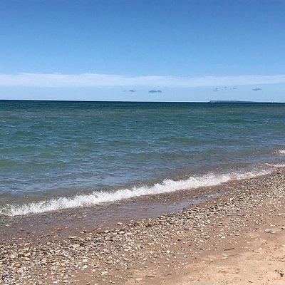 Quaint beach