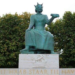 Erik af Pommern Mindebrönd i Helsingör