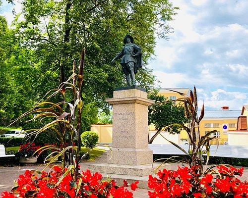 Monument to Gustav II Adolf Photo: R. Pindus