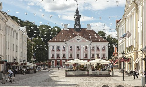 Tartu Town Hall Photo: Riina Varol