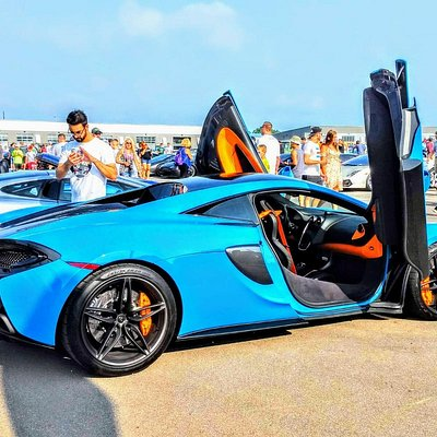 McLaren in Mexico Blue