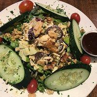 Apple walnut chicken salad - yum!