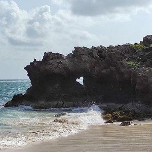 LA photo à faire quand on vient sur cette plage!!
