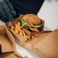 Red Slice Burger a naše hranolky