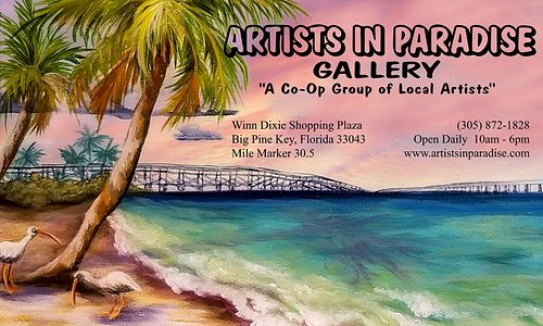 Best gallery in the Keys!