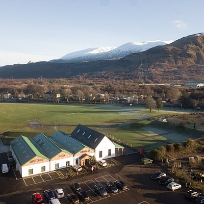 Set in 6 acres of parkland, beside a 13th century ruined castle and with views over Ben Nevis