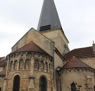 Église Saint Amand. Vue 8. Saint Amand Montrond 18200.