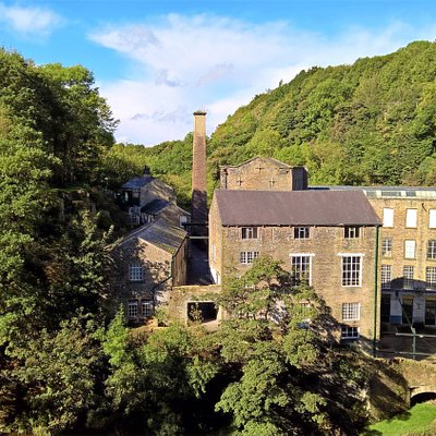 Torr Vale Mill in the summer