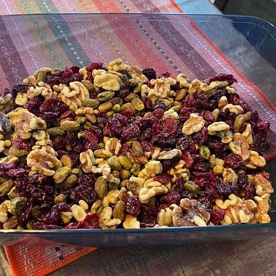 Awesome trail mix!