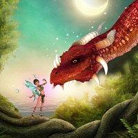 Dragon, licorne et fée, parc de loisirs Fantassia - Perpignan