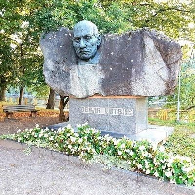 Statue of Oskar Luts Photo: Tartu Visitor Centre