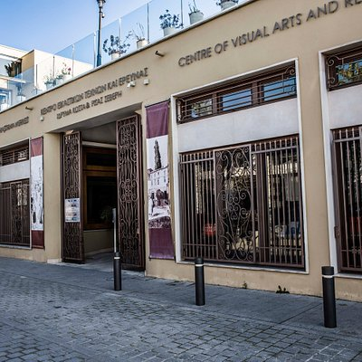 Centre of Visual Arts and Research, 285 Ermou Street in old Nicosia
