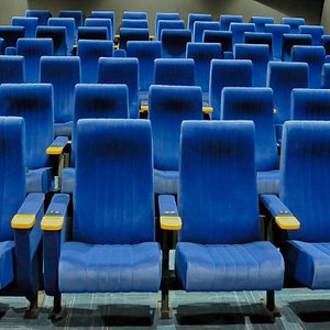 State of the art 63 seat cinema.