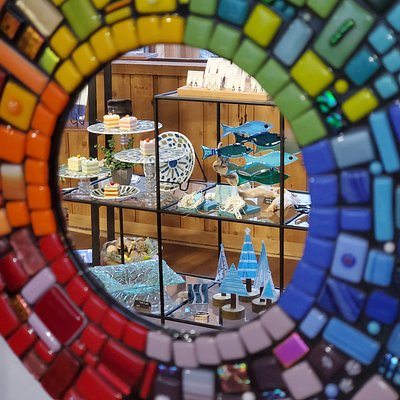 You Break it, You Make it. We Bake Get Fused  Glass fusion Art Studio and Gift Shop
