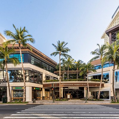 International Market Place Kalakaua Avenue entrance welcomes you to shop, dine and enjoy.