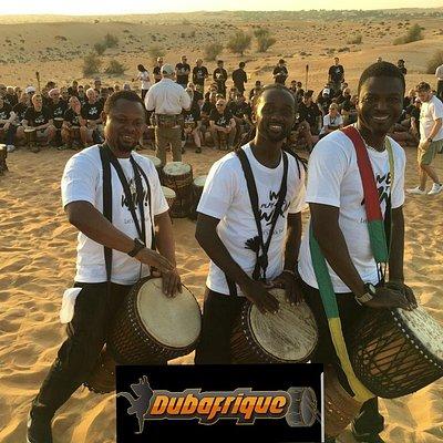 Desert drumming In Dubai, Dubai desert safari