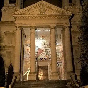 Santuario della Madonna dei Fiori, mosaico