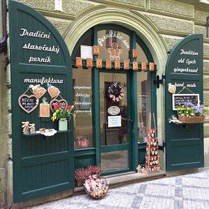 Our shop in Haštalská 21, Praha 1