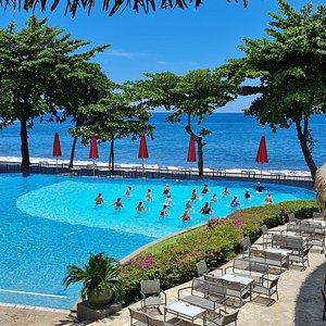 Aquabiking in Tahiti