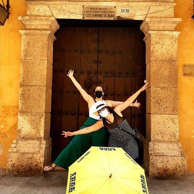 Puertas, Balcones y Llamadores le dan un toque escepcional al recorrido en la ciudad vieja.