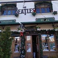 The Beatles Bar in Korca