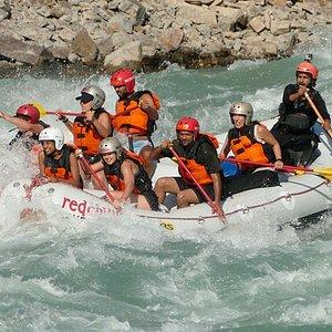 Rafting on Ganga- Rishikesh