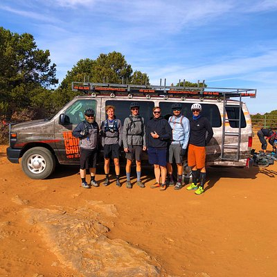 The boys are back in town • The Enchilada Lower Section • STAY FRESH FOR TOMORROW • Moab Utah • Hazard County Shuttle