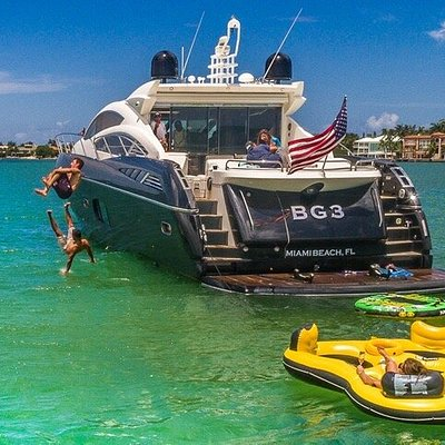 Miami VIP Yacht Rentals - South Beach