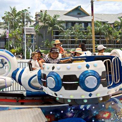 Star ship kids carousel