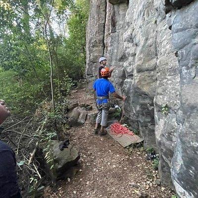Escalada en roca Sector El Huape Full day