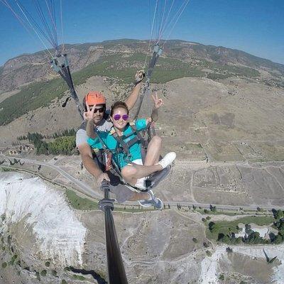 Pamukkale dragon Fly paragliding