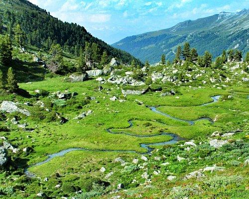 Jardin japonais à Haute-Nendaz (Valais) - accès depuis Siviez