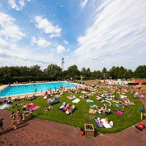 Buitenbaden Zwembad de Stok