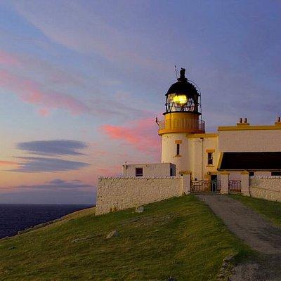 Stoer lighthouse sunset