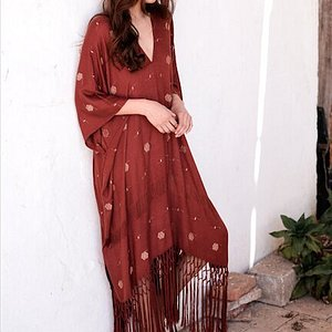 Kimono Nishya, ideal para un día de verano.