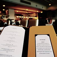 A seasonal menu featuring local fare
