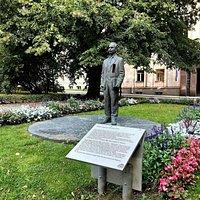 Monument to Peeter Põld Photo: M. Lokko