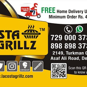 free home delivery upto 3kms for a Minimum order of Rs 400/-.