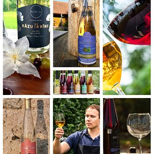 We offer a variety of fruit and berry wines