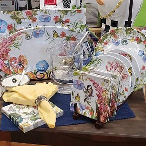 Beautiful new Spring designs in our Melamine collection.