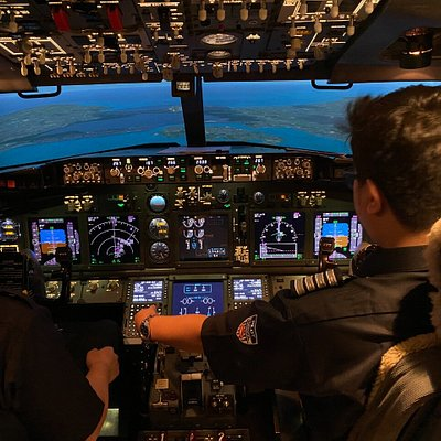with a direct projection visual or a collimated visual system, our Boeing 737 simulator provides realistic image and visual.