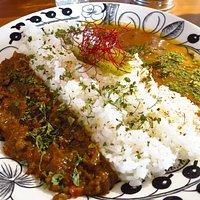ハーフ&ハーフカレー / Half & half curry