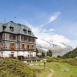Jardin alpin / Alpengarten à Riederalp (Haut-Valais)
