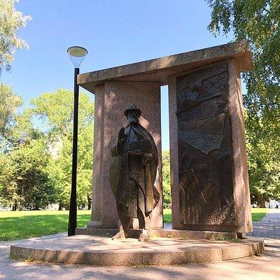 Monument to Hugo Treffner Photo: Tartu Visitor Centre