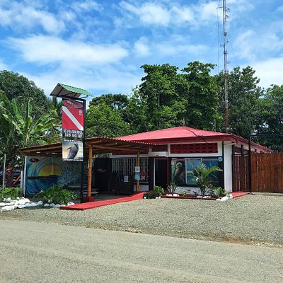 Our shop 200 mts  from Marino Ballena National Park.