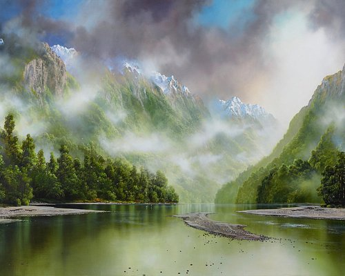 Haast Impression By Master of Light Tim Wilson