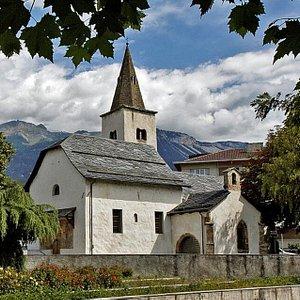 Eglise Notre Dame des Marais à Sierre (Valais)