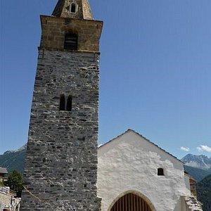 Ancienne église à Vercorin (Valais)
